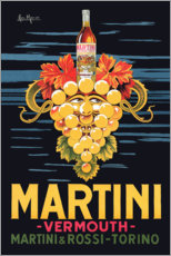 Canvas print  Martini advertising poster - Advertising Collection