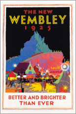 Canvas print  The new Wembley 1925 (English) - Gregory Brown