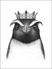 Canvas print  The King Penguin - Valeriya Korenkova