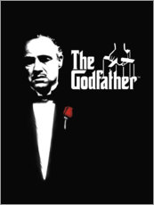 Canvas print  The Godfather - Entertainment Collection