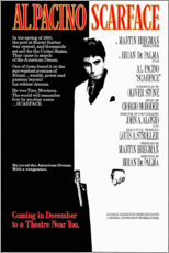 Premium poster  Scarface (Engels) - Entertainment Collection