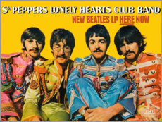 Aluminium print  Sgt. Pepper's Lonely Hearts Club Band - Entertainment Collection
