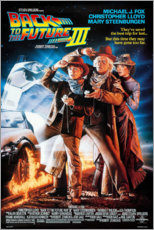 Premium poster Back to the Future III