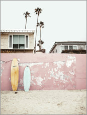 Gallery print  Surfboards at the beach house - Sisi And Seb
