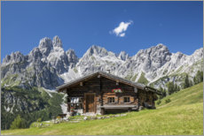Acrylglas print  Alpine hut in the Austrian Alps - Gerhard Wild