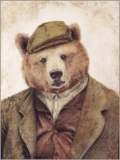 Canvas print  Uncle Bear - Mike Koubou