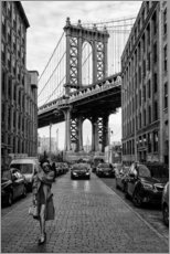 Acrylglas print  Brooklyn with Manhattan Bridge - Robert Bolton