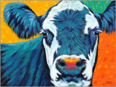 Premium poster Colorful Country Cows I