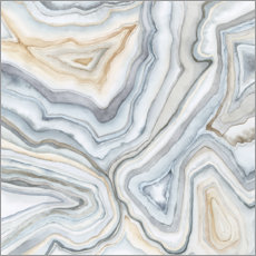 Premium poster Agate Abstract II