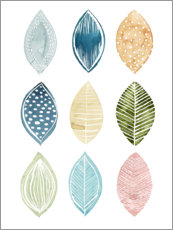 PVC print  Leaves pattern I - Grace Popp