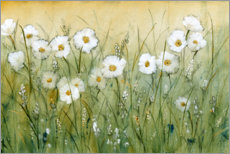 Muursticker  Daisies in spring I - Tim O'Toole