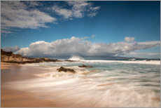 Canvas print  Waves at Ironwood Beach, Hawaii - Circumnavigation