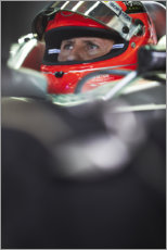 Hout print  Michael Schumacher for Mercedes AMG, Brazilian GP 2012
