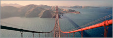 Acrylglas print  Golden Gate Bridge