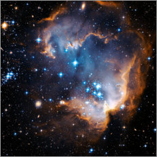 PVC print  Starbirth region NGC 602 - NASA
