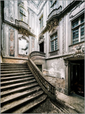 Hout print  Baroque staircase - Irnmonkey