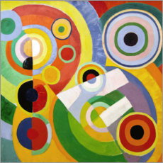 Canvas print  The Joy of Life - Robert Delaunay