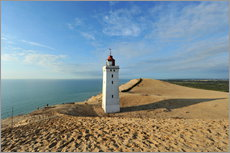 Gallery print  Lighthouse Rubjerg Knude in Denmark - HADYPHOTO