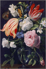 Gallery print  Vase with flowers - Daniel Seghers