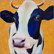 Gallery print  Cow Angelika - Renate Berghaus