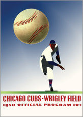 Gallery print  chicago cubs 1950 - Sporting Frames