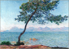 Canvas print  De Esterel bergen - Claude Monet