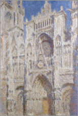 Muursticker  Cathedral afternoon - Claude Monet
