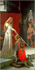 Gallery print  The Accolade - Edmund Blair Leighton