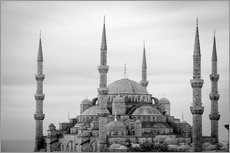 Muursticker  the blue mosque in Istanbul / Turkey - gn fotografie