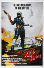 Muursticker  Mad Max