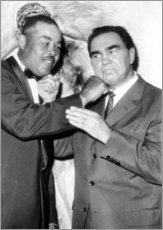 Gallery print  Max Schmeling and Joe Louis