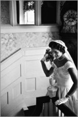 Gallery print  Jackie Kennedy at her wedding