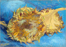 Gallery print  Two sunflowers - Vincent van Gogh