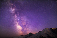 Gallery print  Milky way at the violet sky - Gary Luhm