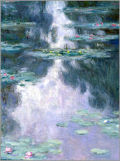 Muursticker  Water Lilies - Claude Monet