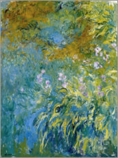 Premium poster  Yellow Iris - Claude Monet