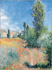 Canvas print  Landschap op Sint Maarten - Claude Monet