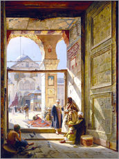 Gallery print  The gate of the great Umayyad Mosque in Damascus - Gustave Bauernfeind