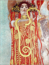 Muursticker  Hygieia detail from the medicine - Gustav Klimt