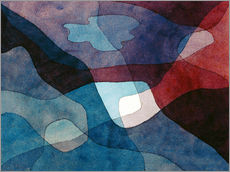 Muursticker  Mountain and Air Synthetic - Paul Klee