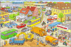 Gallery print  Car Hidden Object City - Stefan Seidel