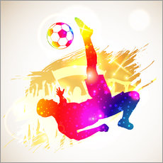Gallery print  Football Player - TAlex