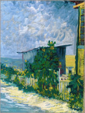PVC print  Shelter on Montmartre - Vincent van Gogh