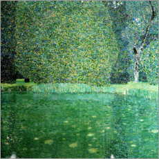 Acrylglas print  Castle Pond in Kammer at Attersee - Gustav Klimt