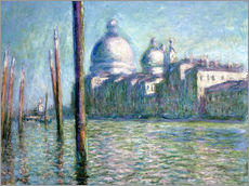 Gallery print  The Grand Canal - Claude Monet