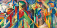 Gallery print  Stables - Franz Marc
