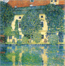 Acrylglas print  Schloss Kammer on the Attersee III - Gustav Klimt
