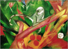 Acrylglas print  The monkey - Franz Marc