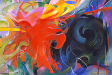Gallery print  Fighting forms - Franz Marc