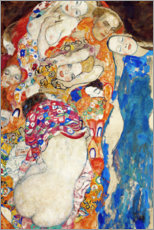 Muursticker  The bride - Gustav Klimt